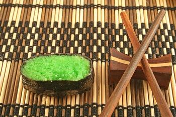 Wassabi Tobiko Caviar, Green Caviar, Sushi Caviar
