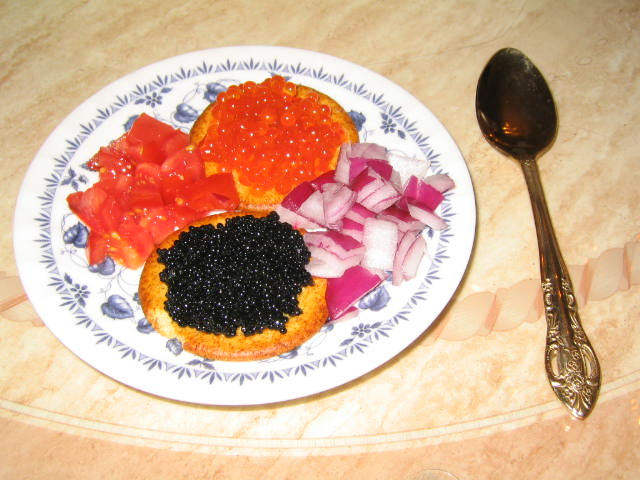 Caviar recipes serving suggestions caviar caviar recipe for How to prepare caviar
